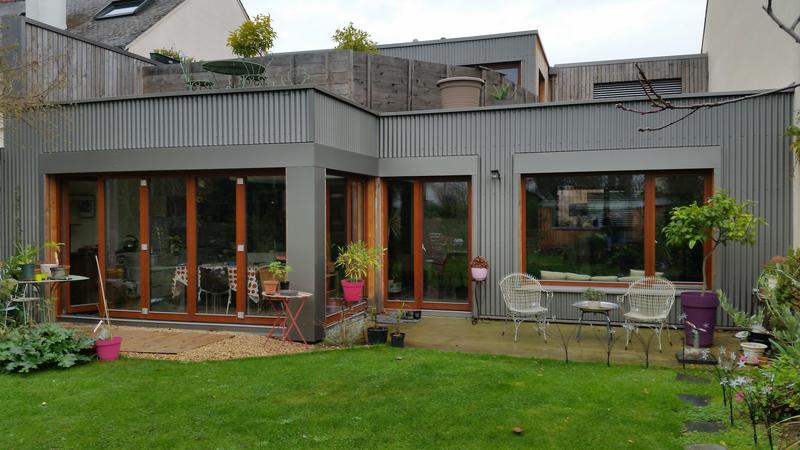 Construction de maisons neuves agrandissement et for Agrandissement maison rennes